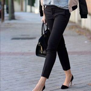 Zara Black Cropped Pant